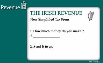 The new simplified tax return
